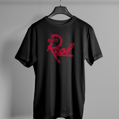 Insignia T-Shirt / Black & Red