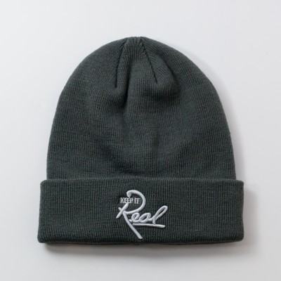 Insignia Beanie / Grey & Light Grey
