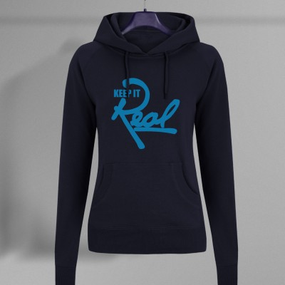 Insignia Regal Pullover Hoodie / Navy Blue & Light Blue