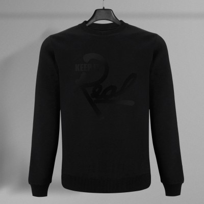 Insignia Sweatshirt / Black & Black