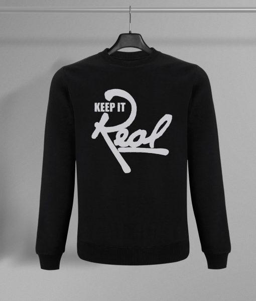 Insignia Sweatshirt / Black & White