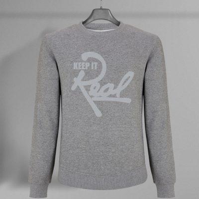 Insignia Sweatshirt / Melange Grey & Grey