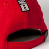 Insignia Strapback / Red & White