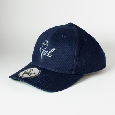 Insignia Strapback / Navy & Light Blue