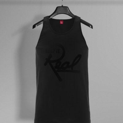 Insignia Vest / Black & Black