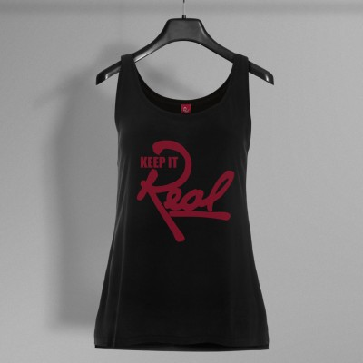 Insignia Vest / Black & Red