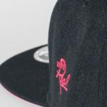 Insignia Snapback / Black & Red