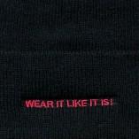 Insignia Beanie / Black & Red