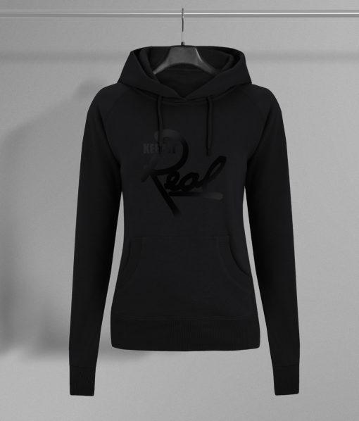 Insignia Regal Pullover Hoodie / Black & Black