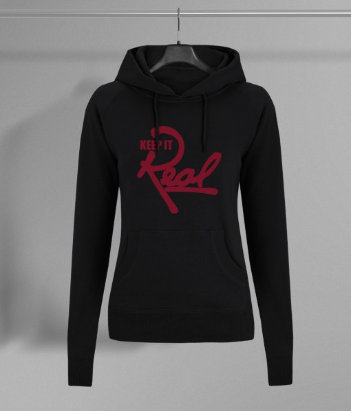 Insignia Regal Pullover Hoodie / Black & Red