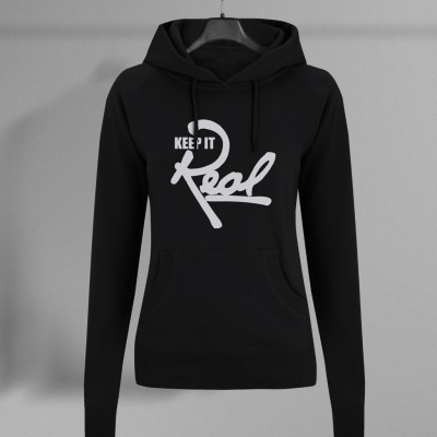 Insignia Regal Pullover Hoodie / Black & White