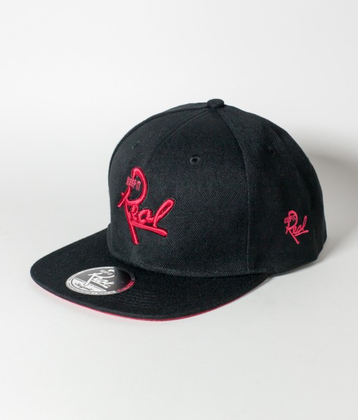 Insignia Snapback / Black & Red