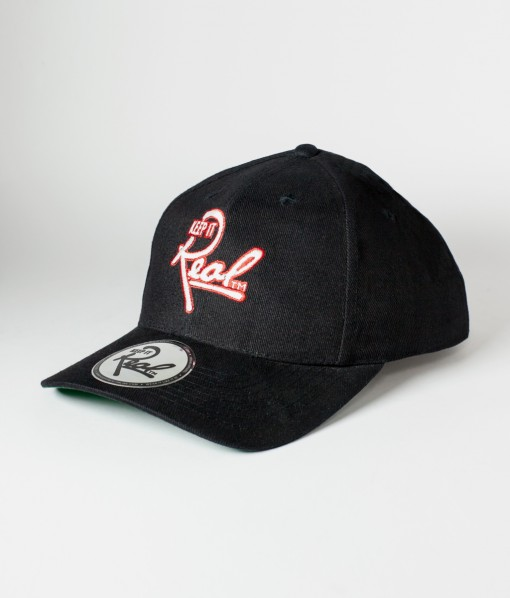 Insignia Strapback / Black & Red