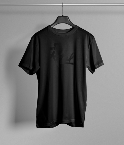 Kids Insignia T-Shirt / Black & Black